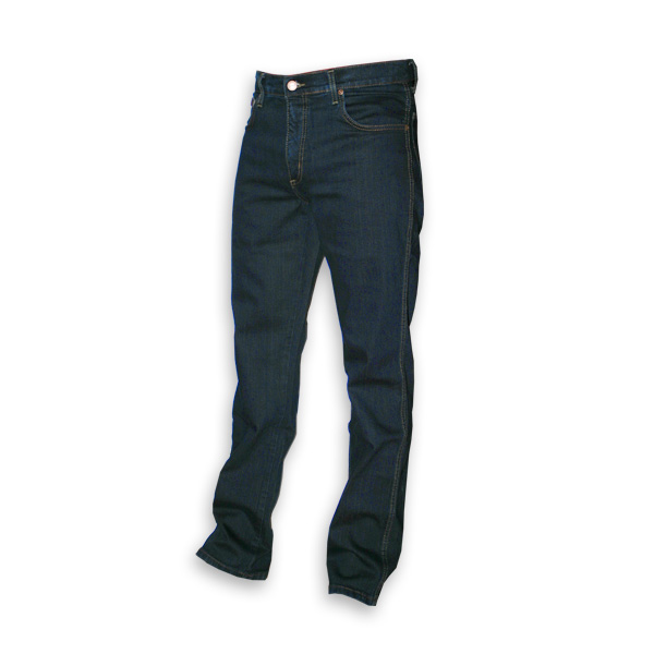 Wrangler Texas regular stretch donkerblauw