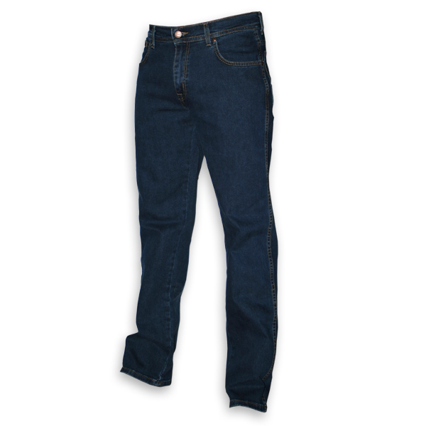 Wrangler Texas regular stretch blauw