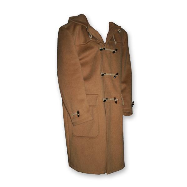 Leidse zeeduffelcoat merk Biesot/houtje touwtje