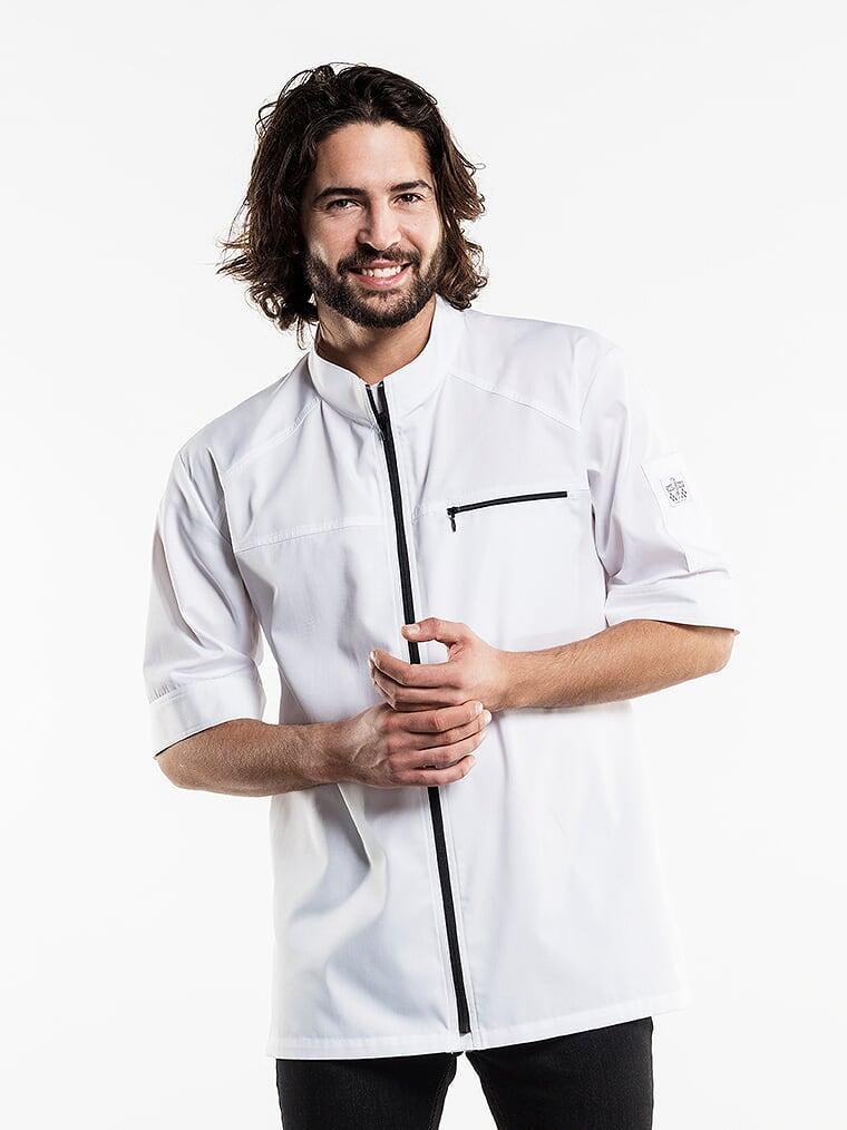 Chaud devant koksbuis Modena UFX White Short Sleeve