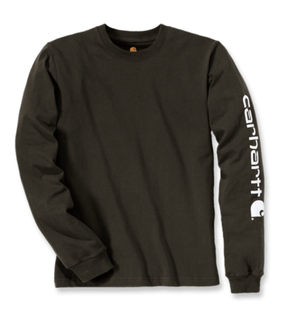 Carhartt Sleeve Logo T-Shirt L/S